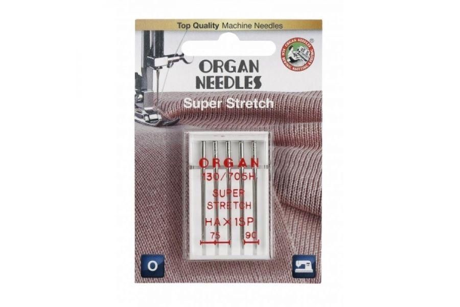 Иглы Organ супер стрейч Blister 5 шт 75-90 290419-STH