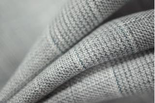 Серый лен в клетку PRT-H5 02021928
