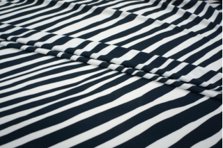 ОТРЕЗ 2,1 М Холодный трикотаж вискозный Cavalli зебра PRT-A5 01081825-1