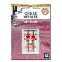 Иглы Organ двойные 2-75/2,5 супер стрейч Blister 15041905