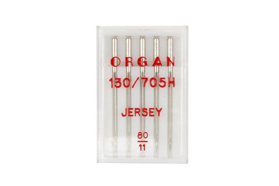 Иглы Organ джерси №80 5шт. 130/705H 15041901