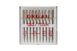 """Универсальные иглы для бытовых швейных машин Organ """"Ассорти"""" SK №70-100"""