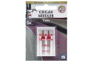 Organ иглы Двойные 2-80/2 блистер