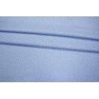 Рубашечный хлопок в клетку голубой PRT-B2 06031907