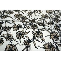 ОТРЕЗ 1,1М Хлопок плательный цветы PRT-А4 28021907-1