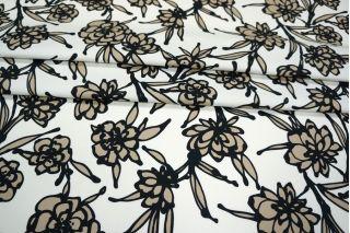 Хлопок плательный цветы PRT-C6 28021907