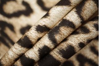 Трикотаж вискозный Cavalli леопард PRT 030-D2 02111852