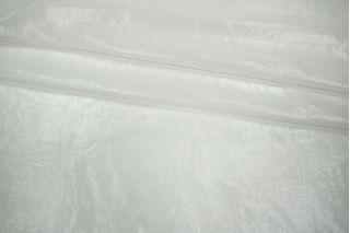 Шифон шелковый белый с люрексом LEO-G3 21051812