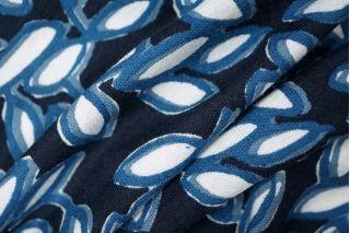 Трикотаж вискоза с хлопком синий PRT-D3-013 28021919