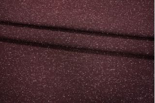 Трикотаж бордовый в крапинку PRT - С4 03021923