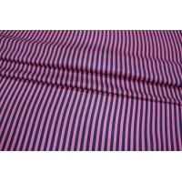ОТРЕЗ 1,3 М Шелк в полоску сине-розовый PRT-(33)- 03021927-1