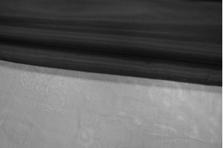 Шелковая органза черная PRT-H3 03021934