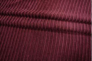 Вельвет хлопковый вишнево-лиловый PRT-B6 07121807