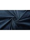 Велюр хлопковый темно-синий PRT1-B6 09011907