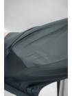 Крепдешин шелковый серый PRT1-D5 09011909