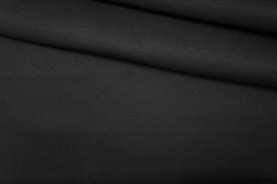 ОТРЕЗ 0,9 М Кашемир двухслойный черный PRT-(СТ)-10061903-2
