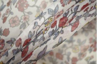 Шифон шелковый цветы PRT-С4 06061902