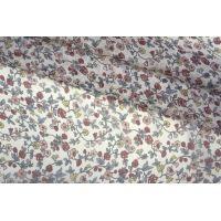 Шифон шелковый цветы PRT-G4 06061902
