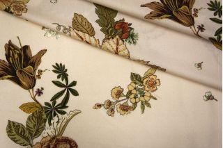 Штапель с цветочным принтом PRT-H3 06061906