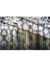 ОТРЕЗ 1,85 М Плательный хлопок абстракция КУПОН PRT-А4 06061907-1