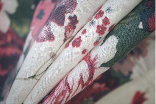 Плательный лен цветочный PRT-G5 06061915