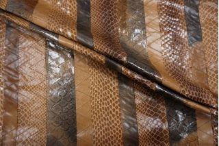 Плащевая ткань коричневая рептилия PRT-I2 05071905