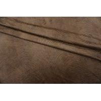 ОТРЕЗ 2,55М Замша фактурная коричневая PRT-I3 05071907-1
