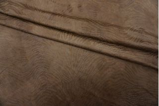 Замша фактурная коричневая PRT-I5 05071907