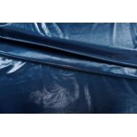 ОТРЕЗ 0,75 М Трикотаж синий под лаке PRT-(21)- 05071911-1