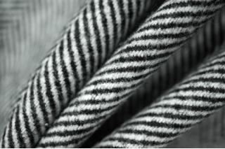 Костюмная шерсть елочка черно-белая PRT-M5 15011919
