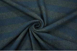 Костюмная рогожка шерстяная в полоску PRT-N4 15011922