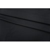 ОТРЕЗ 2,8 М Костюмный репс шерсть с хлопком черный PRT-G2 07071906-2