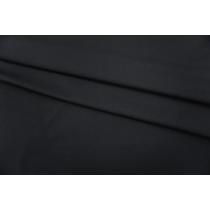 ОТРЕЗ 1,1 М Костюмный репс шерсть с хлопком черный PRT-G2 07071906-4