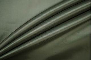 ОТРЕЗ 2,15 М Подкладочная вискоза приглушенно-зеленая PRT-A3 08071906-1