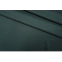 ОТРЕЗ 1,75 М Костюмная шерсть темно-зеленая Scabal Super 120S PRT-H2 08071907-1