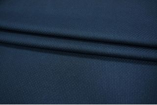 Костюмная рогожка темно-синяя PRT1 089-M4 15011921
