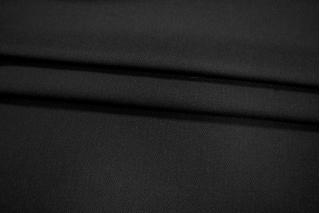 Шерсть плотная в елочку черная PRT-P5 16011911