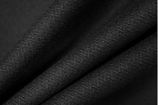 Шерсть плотная в елочку черная PRT-R4 16011911