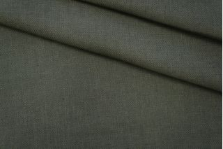 Лен костюмный зеленый PRT-G6 04061903