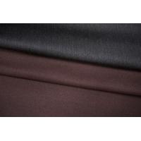 Костюмная шерсть двусторонняя бордо-серый PRT-X3 11071914