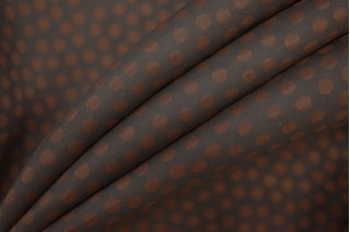 Подкладочная вискоза черно-коричневая PRT 119-A6 06061937