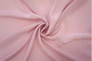 Крепдешин тонкий шелковый розово-сиреневый PRT-С5 07061919
