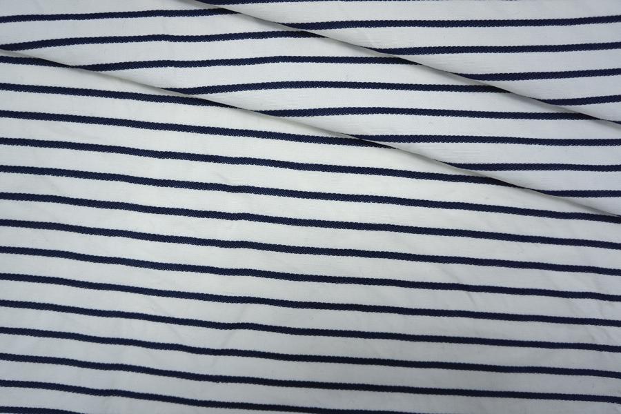 ОТРЕЗ 2,95 М  Костюмный хлопок в полоску PRT-(40)- 07061926-1
