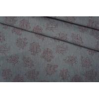 ОТРЕЗ 1М Хлопок плательный серый PRT-C2 07061933-1