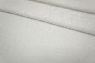 Лен с вискозой нарядный белый PRT-H4 10061924