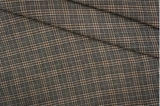 Лен тонкий костюмно-плательный пепита PRT-С2 10061926