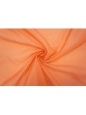 ОТРЕЗ 1,9 М Батист хлопок с шелком морковный PRT-(33)- 10061948-1
