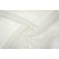 ОТРЕЗ 0,7 М Шелковая органза белая PRT-С4 11061907-1