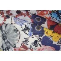 Батист хлопок с шелком цветы PRT-G2 11061909