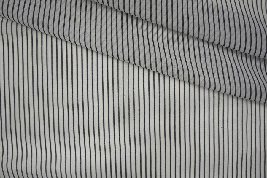 Батист хлопок с шелком полоска PRT-G2 11061911